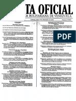 Ley de Ejercicio de La Medicina -Gaceta Oficial N39823 de Fecha 19 de Diciembre de 2011