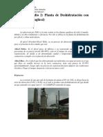 Deshidratación gas natural