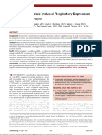Postoperative Opioid-Induced Respiratory Depression a Closed Claims Analysis,2015