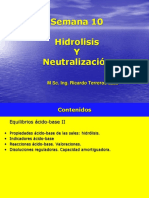 Clase 10 Neutralizacion Hidrolisis
