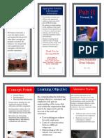 pub ii brochure layout