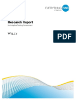 Everything Disc Research Report