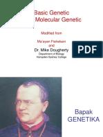 DASAR GENETIKA+MOLEKULER