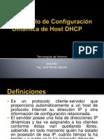 CLASE 1 PROTOCOLO DE CONFIGURACION DINAMICA DE HOST DHCP