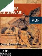 Echeverria Rafael Ontologia Del Lenguaje