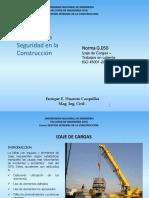 G.050 -Izaje de Cargas -Trabajos en Caliente