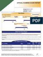 gace score report