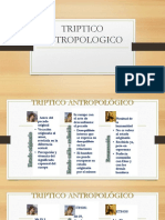 TRIPTICO ANTROPOLOGICO