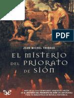 Thibaux, Jean-michel - El misterio del Priorato de Sion [34648] (r1.0).epub