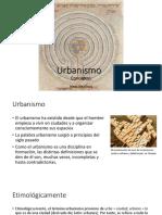 Conceptos de urbanismo