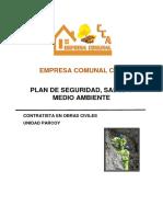 Plan de Seguridad Sst Calzadura de 4 Apoyos en Calero