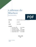 Cadenas de Markov Io