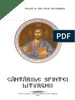 Cantarile sfintei liturghii