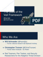 The State of the Veil Framework - Will Schroeder and Chris Truncer