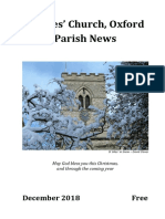 December 2018 Parish News St Giles Oxford