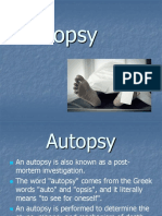 Lecture 12 - The Autopsy