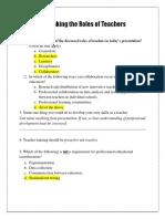 horizon assessment answer key