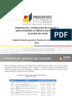 Seminario Importancia, Condiciones de Acceso y Oportunidades en México Para Prendas de Vestir 3
