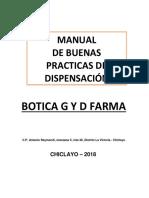 Caratula Botica g y d Farma Bpd