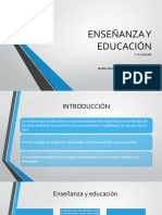 4.Capitulo Enseñanza y Educación
