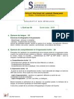 Descriptif B2 Paris Sorbonne 2018