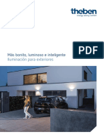 201811 Theben Catálogo Iluminación Para Exteriores 2018
