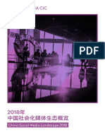 2018 China Social Media Landscape Whitepaper CN