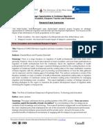 SRC-CTPL-IDRC Paper Summaries