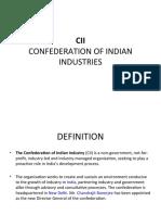 CII (Confederation of indian industries)