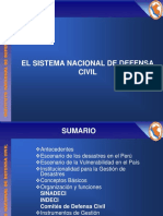 V PEREYRA EL SISTEMA NACIONAL DE DEFENSA CIVIL- VIVANCO.ppt