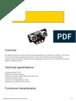Informacion Tecnica Ultrasonidos