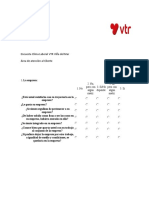 Encuesta Clima Laboral VTR Viña Del Mar