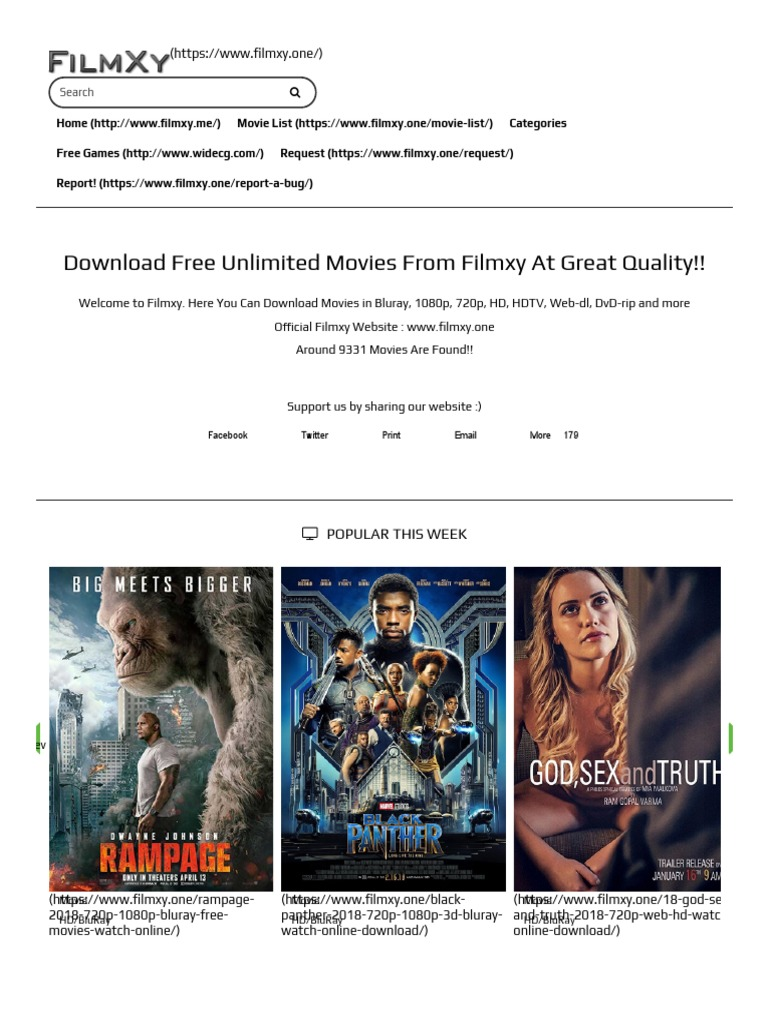 Filmzy Movie List How to Download a Movie | World Wide Web | Technology