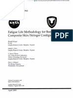 Fatigue Life Methodology for Bonded Composite Skin / Stringer Configurations