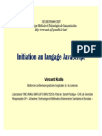 Initiation Javascript