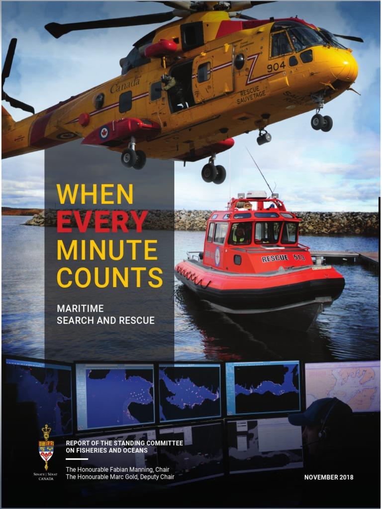 Canada Canadian Coast Guard Search /& Rescue SAR Team Canadian CCG Volunteer