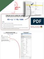 Cálculo de Caída de Voltaje.pdf