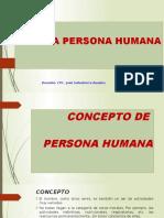 A Persona Humana