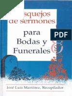 BOSQUEJO DE SERMONES PARA BODAS Y FUNERALES JOSE LUIS MARTINEZ.pdf