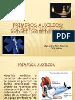 Primeros Auxilios Exposición 2013