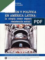 CERUTTI, H. y MONDRAGON, C. (Coord), Religión y Política en América Latina. La Utopia Como Espacio de Resistencia Social, 2006