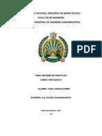 Determinación de La Acidez en La Leche Practica 1 Procesos