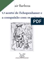 BARBOZA, Jair = O acerto de Schopenhauer e a compaixão com os animais