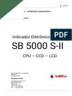 SB5000 S-II Manual de Calibração (Rev00)c Senha