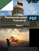 Edgar Raúl Leoni - Patrimonio Artístico de Venezuela, Parte I