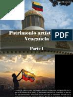 Edgard Raúl Leoni - Patrimonio Artístico de Venezuela, Parte I