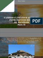 Henry Camino - Cambio Climático Amenaza Patrimonios de La Humanidad, Parte II