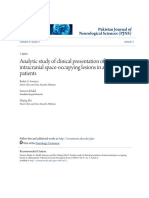Analytic study of clinical presentation of intracranial space-occ.pdf