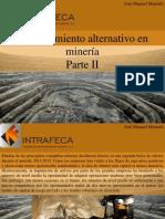 José Manuel Mustafá - Financiamiento Alternativo en Minería, Parte II