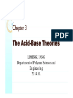 Teorias ácido-base